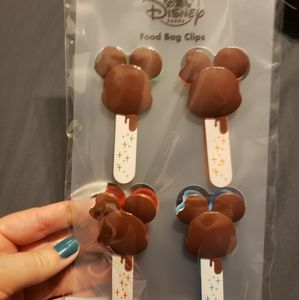 Disney Snacks Food Bag Clips